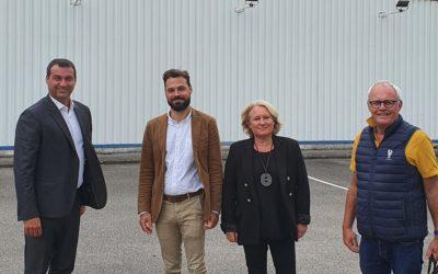 Christophe Blanchet, député du Calvados, rencontre Liametho